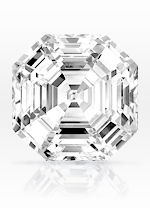 Asscher cut diamond - sample image