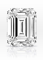 Emerald cut diamond - sample image