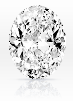 Oval cut diamond - sample image