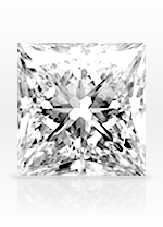 Princess cut diamond - sample image