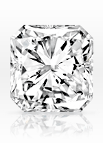 Radiant cut diamond - sample image
